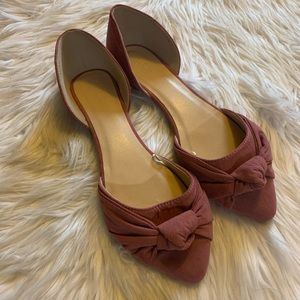 Rose Pink Charlotte Russe Flats • 9 Womens